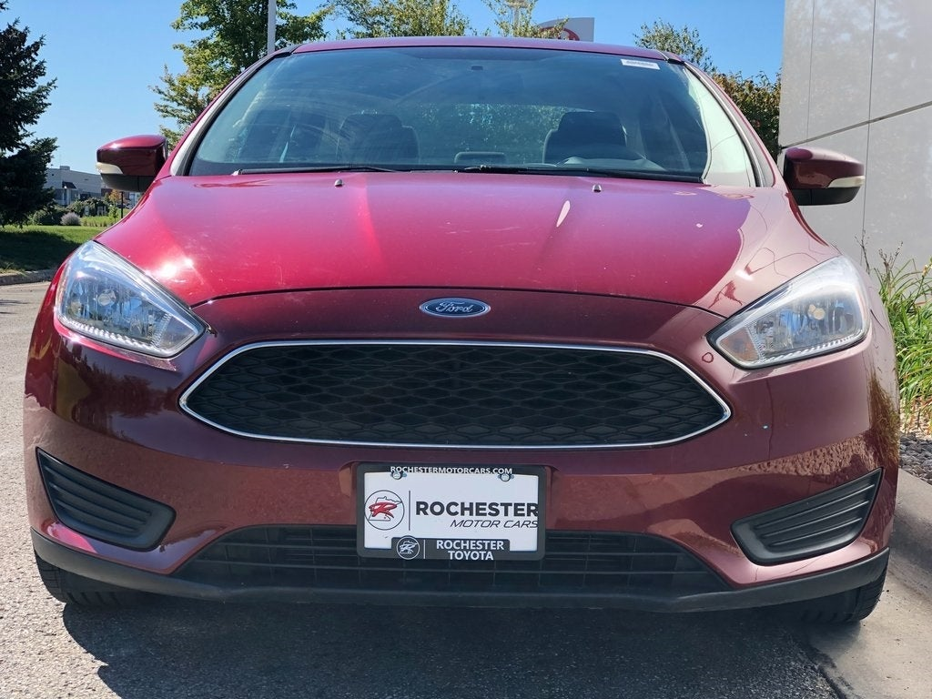 Used 2016 Ford Focus SE with VIN 1FADP3F23GL306194 for sale in Rochester, Minnesota