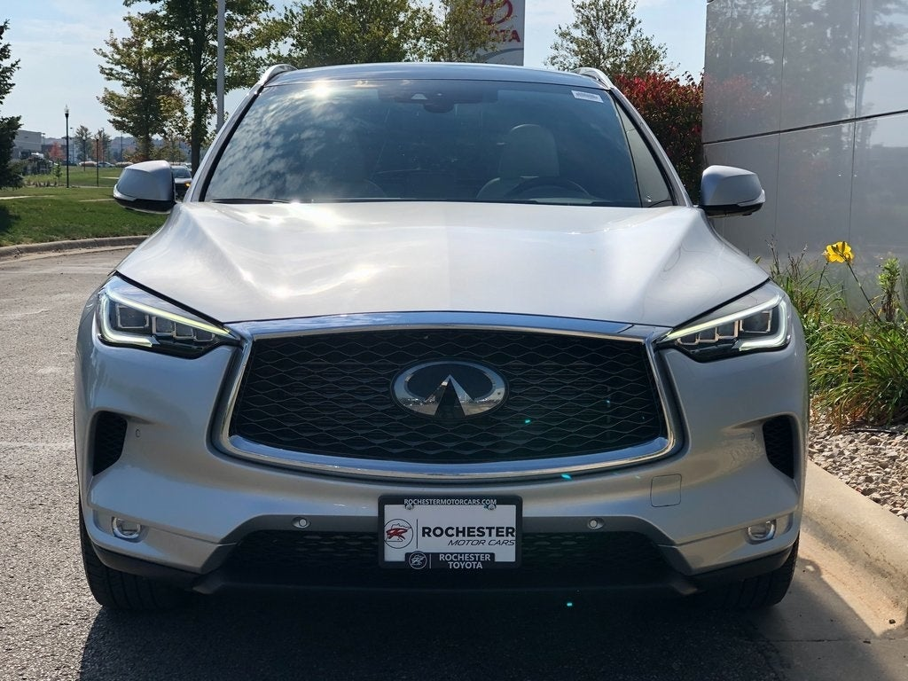 Used 2019 INFINITI QX50 Pure with VIN 3PCAJ5M35KF103230 for sale in Rochester, Minnesota