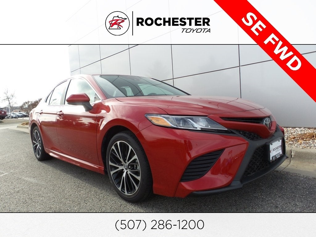 2019 Toyota Camry Se In Rochester Mn Twin Cities Toyota Camry